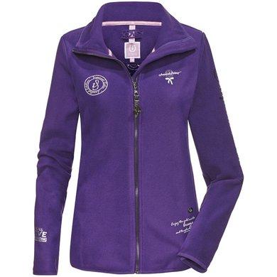 Imperial Riding Fleece vest Magic Fleece Purple XL