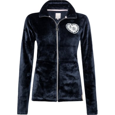 Imperial Riding Fleece vest Moonflower Navy 164