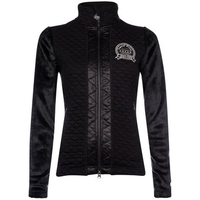 Imperial Riding Fleece vest Snowden Black L