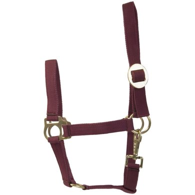 Imperial Riding Nylon halster met schuifgesp Bordeaux