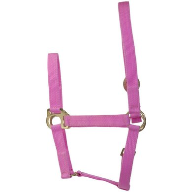 Imperial Riding Nylon halster met schuifgesp Roze Full