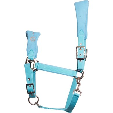 Imperial Riding Halster Labor Of Love Turquoise Full