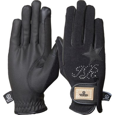 Imperial Riding Handschoenen Come To Win Black XS