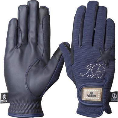 Imperial Riding Handschoenen Come To Win Navy XS