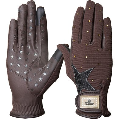 Imperial Riding Handschoenen Cosmic Star Brown M