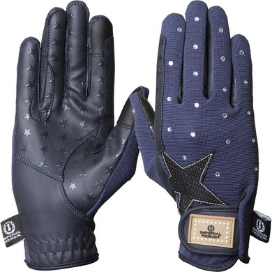 Imperial Riding Handschoenen Cosmic Star Navy L