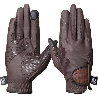 Imperial Riding Handschoenen Crazy Love Brown XS