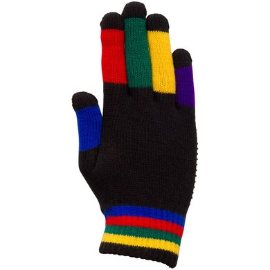 Imperial Riding Handschoenen Magic Zwart/Rainbow 12