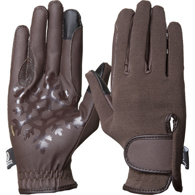 Imperial Riding Handschoenen Snowflake Brown M