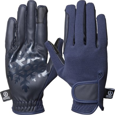 Imperial Riding Handschoenen Snowflake Navy M