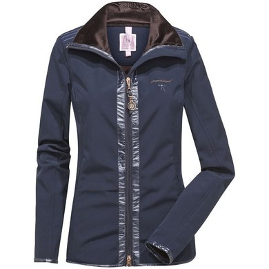 Imperial Riding Jack Softshell Make Your Move Navy L
