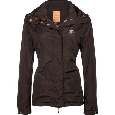 Imperial Riding Jacket Marga Braun/ Rosa Metall S