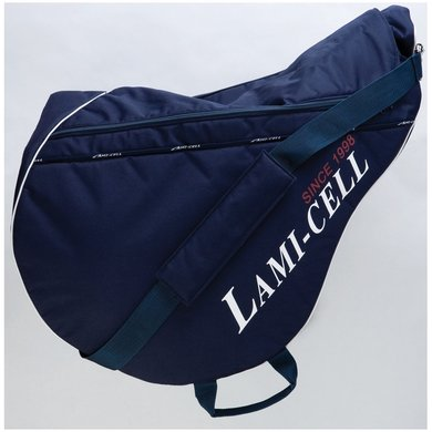 Lami-Cell Jaguar zadeltas navy/white