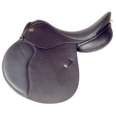 JC pony veelzijdigheidszadel JUNIOR Zwart 165 inch