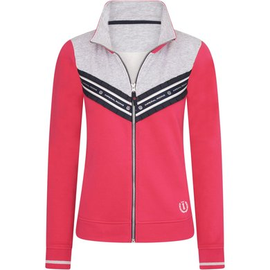Imperial Riding Sweat Cardigan IRHLovely Bright Rose S