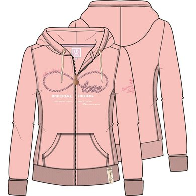 Imperial Riding Sweater Once In A Lifetime Powder Pink S