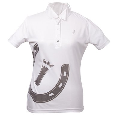 Imperial Riding Cult wedstrijdshirt Dallas kids White 128