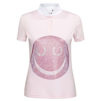 Imperial Riding Shirt Smiley kids Pink/Multicolor S