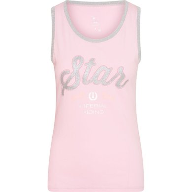 Imperial Riding Top IRHShimmer Powder Pink L