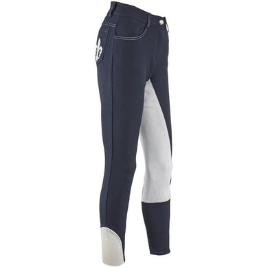 Imperial Riding Rijbroek Lilylove Fullseat Navy 164