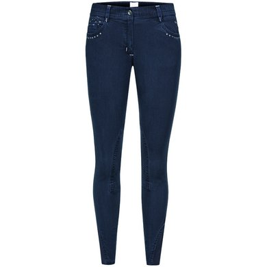 Imperial Riding Rijbroek Aida Kneepatch Dark Navy 176