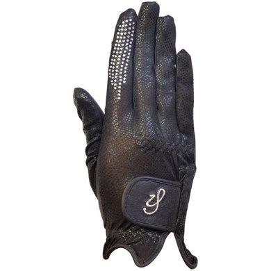 Imperial Riding Gloves Sparkle Black