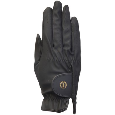 Imperial Riding Handschoen Leather Feel Zwart 22