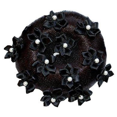 IR Knotnetje Flower Black