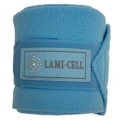 Lami-Cell Polo bandages Crystal per set van 4 turq 3,5 meter