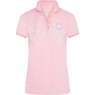 Imperial Riding Poloshirt IRHTrue Colors Powder Pink 152