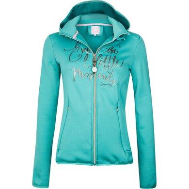 Imperial Riding Powershell jacket Kiss Me Turquoise 164