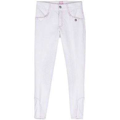 Imperial Riding Rijbroek Dancer SKP White pink 128