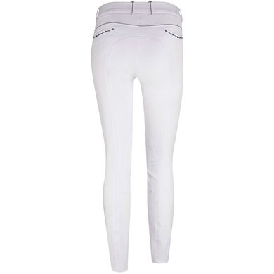 Imperial Riding Rijbroek Flowerpower Kneepatch White 80