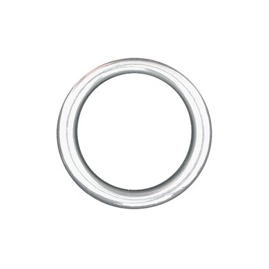 Imperial Riding Ring Rond Zwaar Nikkel 25mm