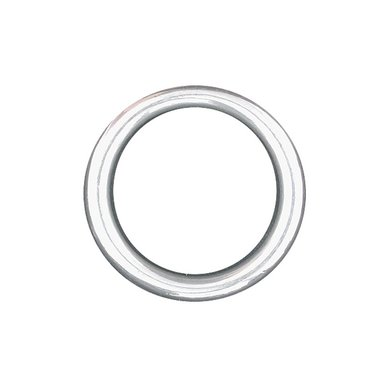 Imperial Riding Ring Rond zwaar Nikkel 55mm