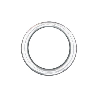 Imperial Riding Ronde-ring RVS ook tuig RVS 50-6mm