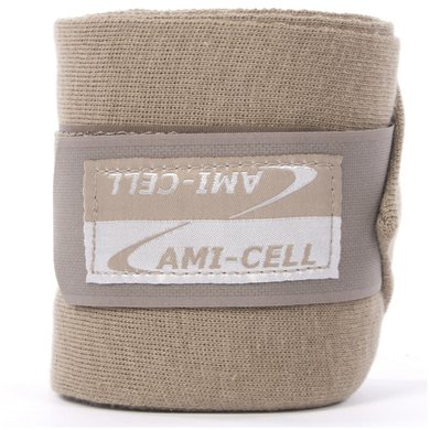 Lami-Cell Rustbandages Pro per set van 4 taupe grey 4 meter