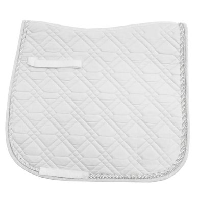 Imperial Riding Saddlepad DR Lucca White/White Cob