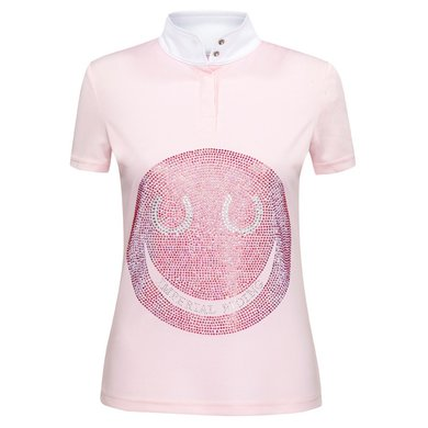 Imperial Riding Shirt Smiley kids Pink/Multicolor L