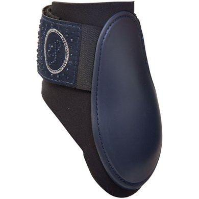 Imperial Riding Snowfall strijklappen Navy/Navy Cob