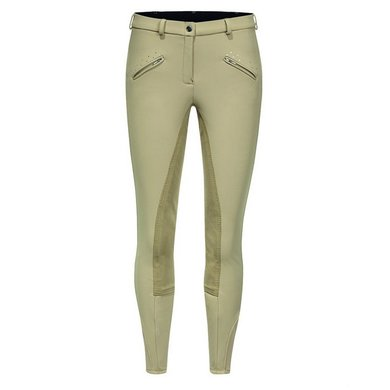 IR Softshell broek lady kneepatch Crystal Beige 140