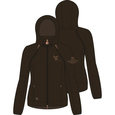 Imperial Riding Softshell jack Woodstock Brown 152