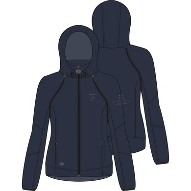 Imperial Riding Softshell jack Woodstock Navy S