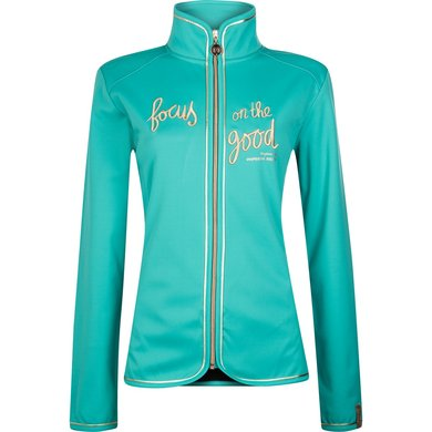 Imperial Riding Softshell jacket Faithfull Rose Turquoise XS