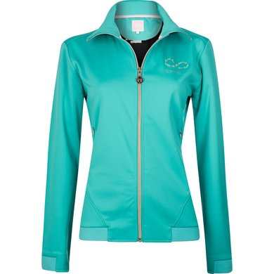Imperial Riding Softshell jacket Nevermind Turquoise XS