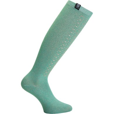 Imperial Riding Sokken Broad Daylight Turquoise 35-38