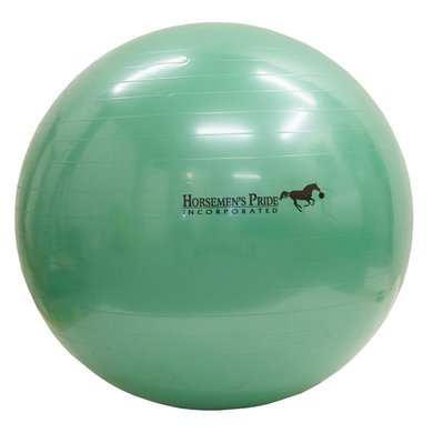 Imperial Riding Jolly Mega Ball met pomp Groen 40-100cm