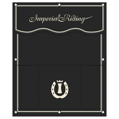 Imperial Riding Stalgordijn groot IR Basic Black Groot