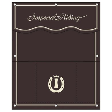 Imperial Riding Stalgordijn groot IR Basic Brown Groot