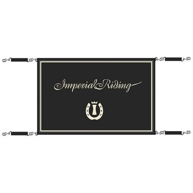 Imperial Riding Stalgordijn klein IR Basic Black Klein